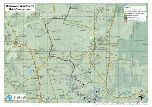 Moanvane grid connection map